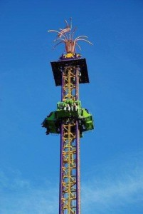 A Drop-Tower ride